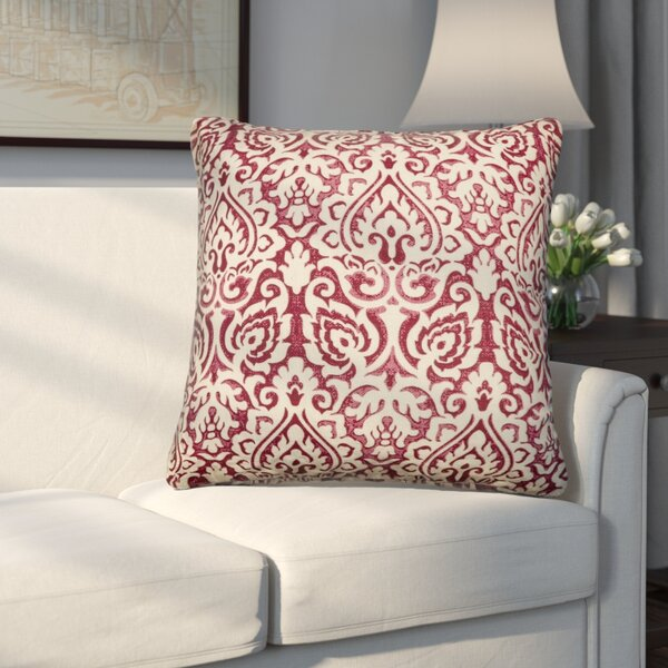 Godines 100% Cotton Throw Pillow (Set of 2) by Three Posts| @ $58.10